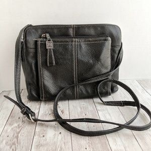 Tignanello  small black cross body purse